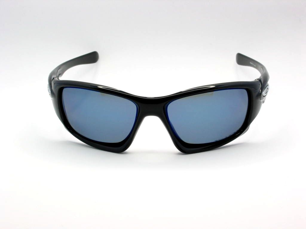 Γυαλιά ηλίου Oakley Ten 9128 12 Black Deep Blue Polarized ~ Eyelab c52d243b804