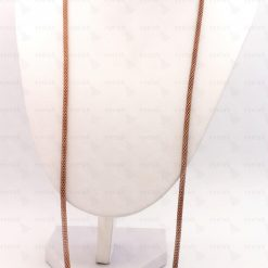 Αλυσίδα για γυαλιά μεταλλική πλεκτή φίδι σε καφέ μπρονζέ χρώμα.