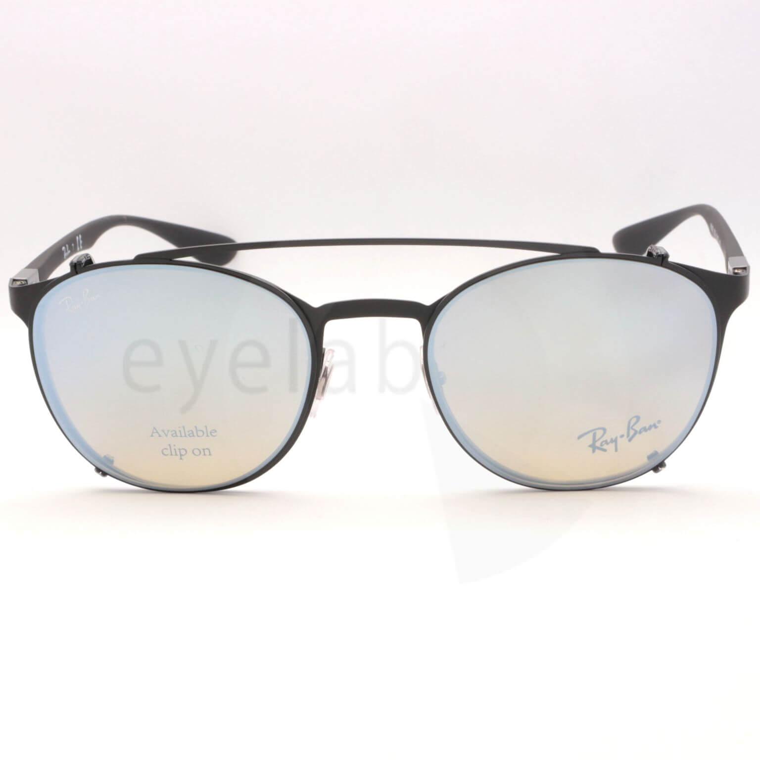 Clip-on Ray-Ban 6355C 2503B8 50 ~ Eyelab a92812b2d25