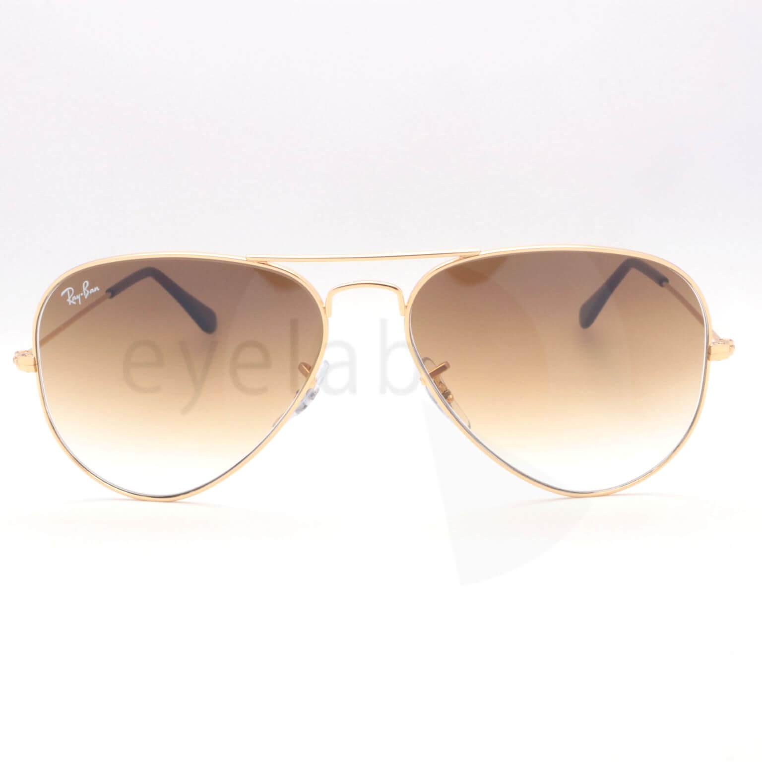 f088dc04c4 Γυαλιά ηλίου Ray-Ban Aviator 3025 001 51 58 ~ Οπτικά Eyelab