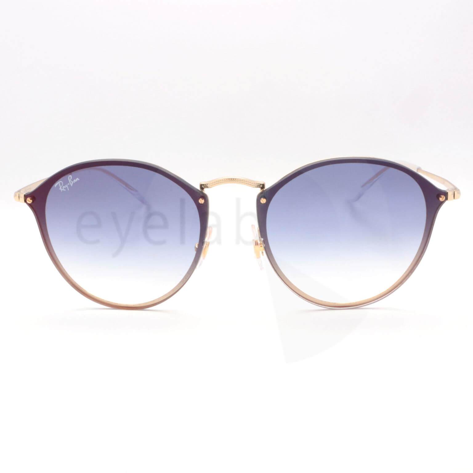 7ca27bda8a Ray-Ban BLAZE ROUND 3574N 001X0 59 ~ Eyelab