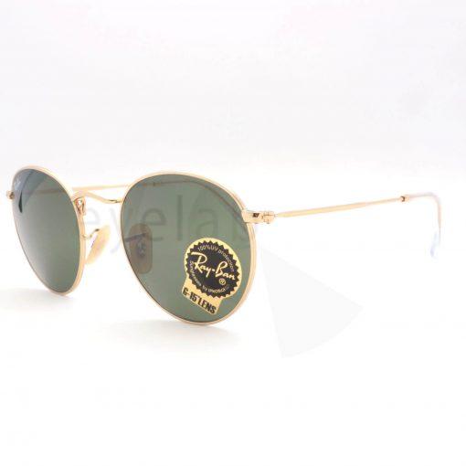 9002bdafd8 Γυαλιά ηλίου Ray-Ban 3447 Round Metal 001 ~ Οπτικά Eyelab