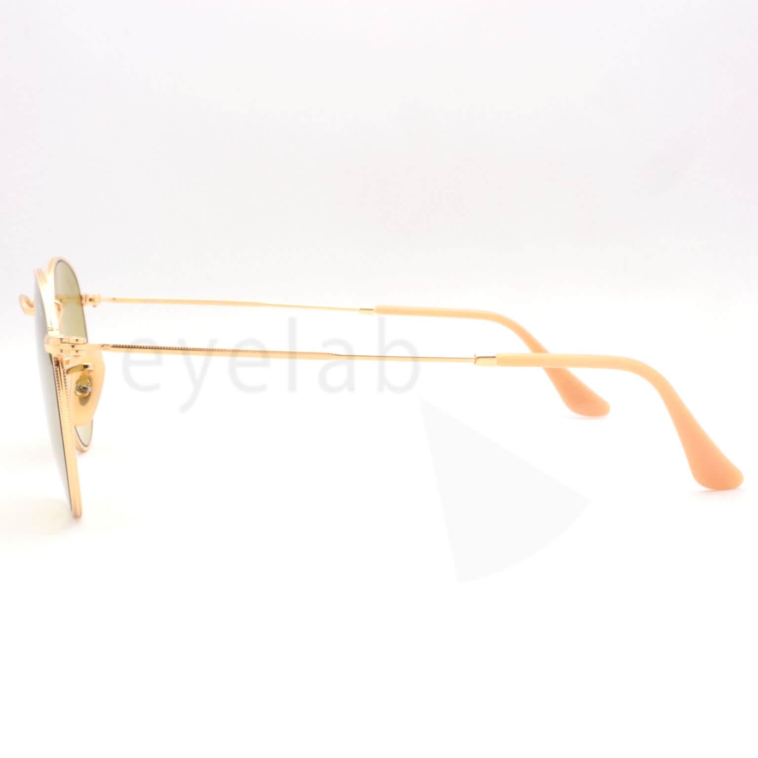 a74d3ac025 Ray-Ban Round Metal 3447 90644C 50 ~ Οπτικά Eyelab