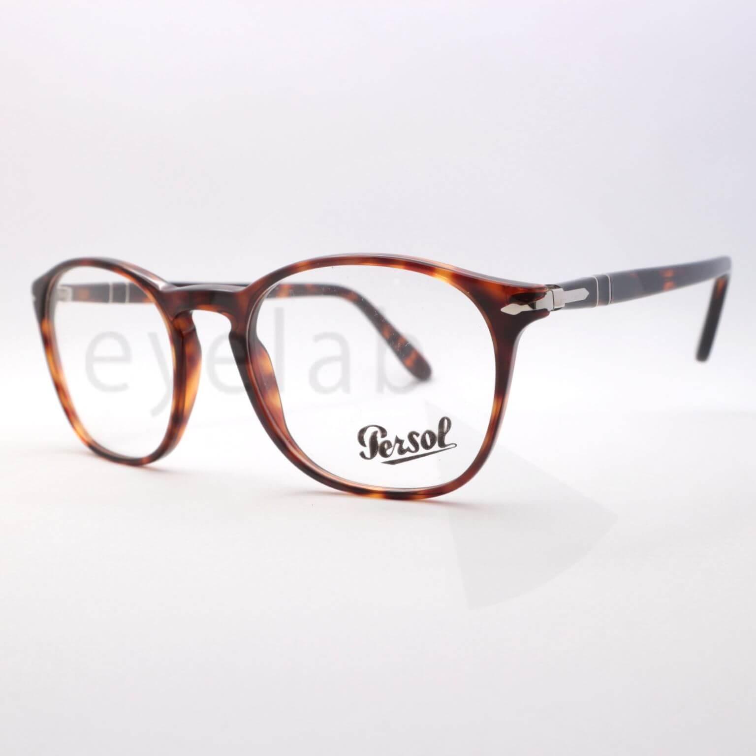 25089f2016 Γυαλιά οράσεως Persol 3007V 24 ~ Eyelab