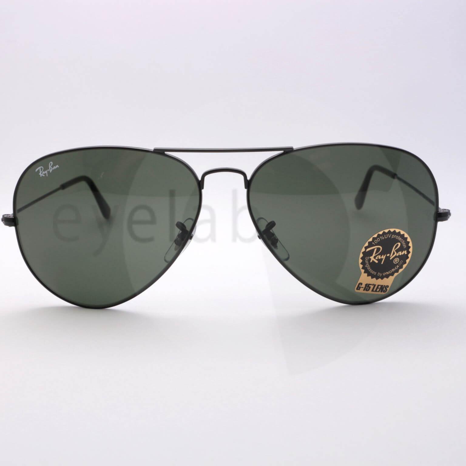 Γυαλιά ηλίου Ray-Ban 3026 L2821 62 Aviator ~ Eyelab b11ef0f3841