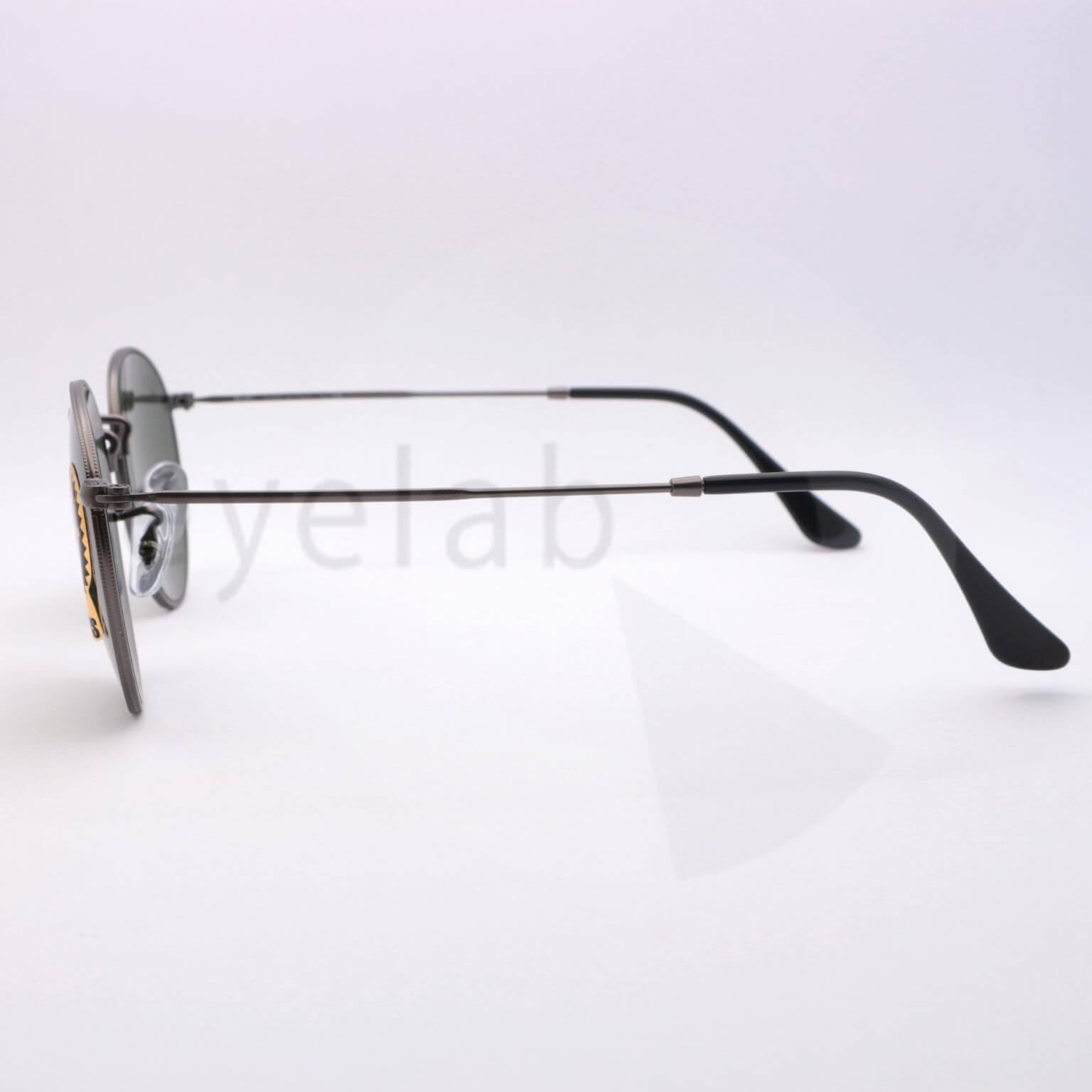 43edb5773a Γυαλιά ηλίου Ray-Ban 3447 Round Metal 029 ~ Οπτικά Eyelab
