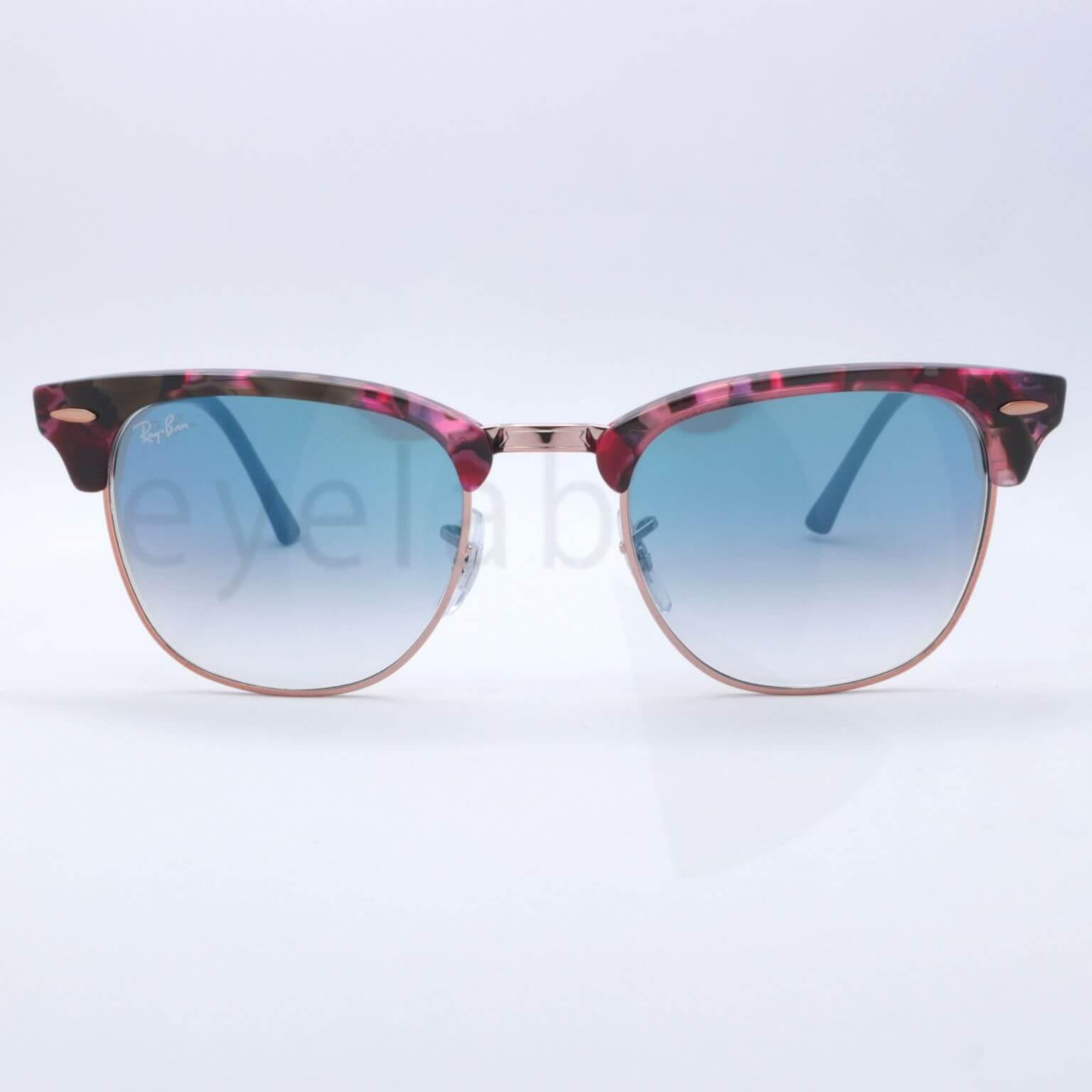 019650205bc78 Ray-Ban 3016 Clubmaster 12573F 51 sunglasses ~ Οπτικά Eyelab