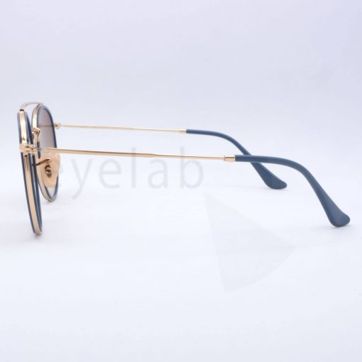 20b64cb9a7 Ray-Ban Round Double Bridge 3647N 0019U sunglasses ~ Οπτικά Eyelab