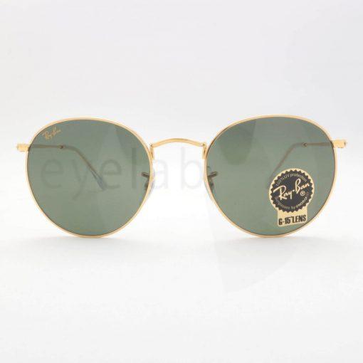 Γυαλιά ηλίου Ray-Ban 3447 Round Metal Legend Gold 919631