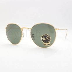 Γυαλιά ηλίου Ray-Ban 3447 Round Metal Legend Gold 919631